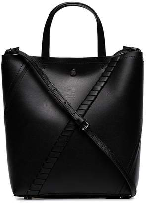 Proenza Schouler black Hex leather tote bag