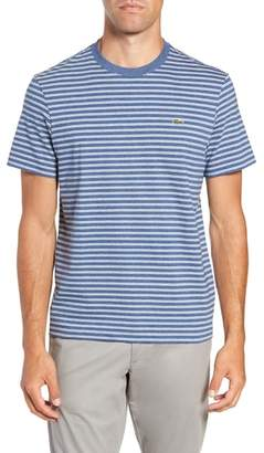 Lacoste Regular Fit Stripe Jersey T-Shirt