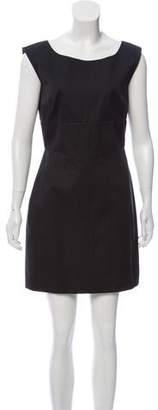 Prada Cap Sleeve Mini Dress