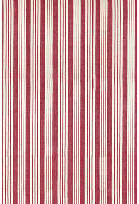 Dash and Albert Rugs Flat Woven Red/White Area Rug