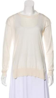 Stella McCartney Virgin Wool & Silk Lightweight Sweater