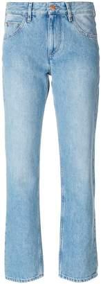 Etoile Isabel Marant cropped straight-leg jeans