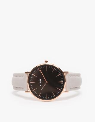 La Bohème Rose Gold Black/Grey $99 thestylecure.com
