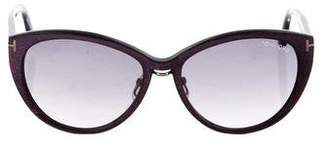Tom Ford Gina Cat-Eye Sunglasses