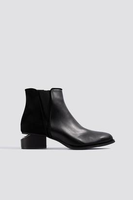 Trendyol Cut Out Heel Boots Black