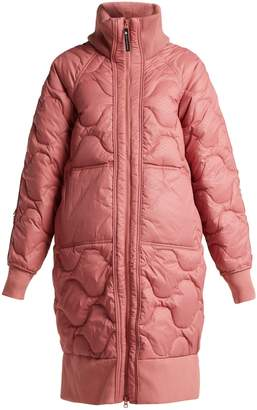 adidas by Stella McCartney Scale-print quilted jacket