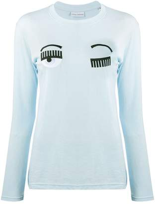 Chiara Ferragni Flirting long-sleeved T-shirt