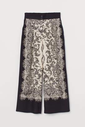 H&M High Waist Pants - Black