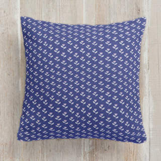 Bluebonnet Square Pillow