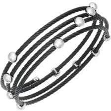 Alor Stainless Steel Coil Bracelet