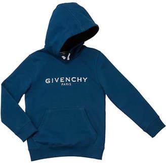 Givenchy Boys' Hooded Logo Sweatshirt, Size 12-14
