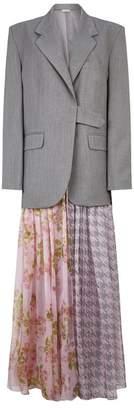 Natasha Zinko Floral Chiffon Hybrid Blazer