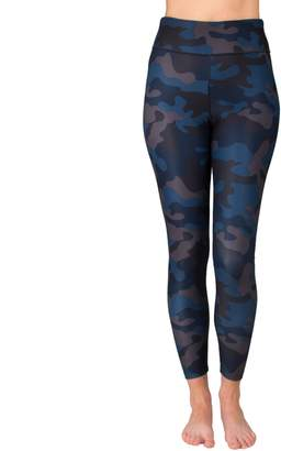 Spalding Women's Camo Print High-Waisted Leggings