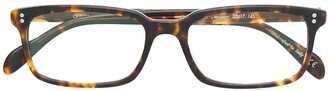Oliver Peoples tortoise shell square shape glasses