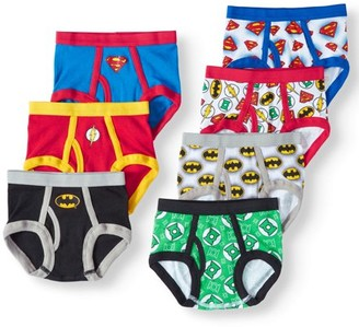 Justice League Toddler Boys' Briefs, 7-Pack