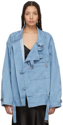 Marques Almeida Blue Denim Army Jacket