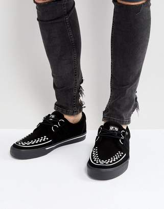 T.U.K. VLK D-Ring Suede Creeper Sneakers
