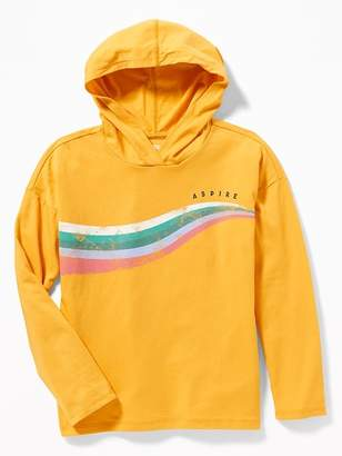 Old Navy Graphic Tee Hoodie for Girls
