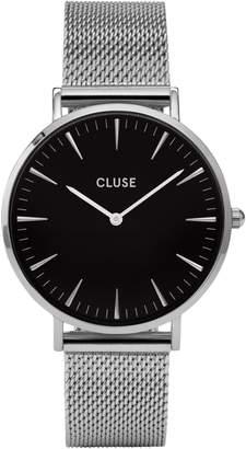 Cluse La Boheme CL18106 Silvertone Mesh Bracelet Analog Watch