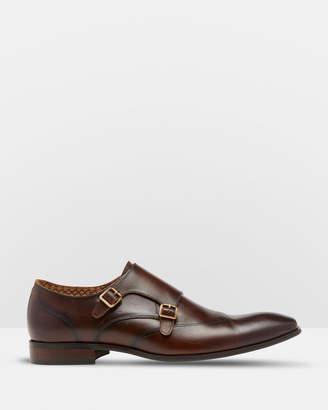 Oxford Simon Leather Monk Shoes