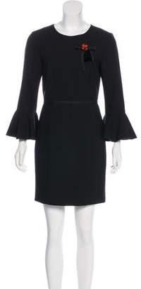 Cinq à Sept Long Sleeve Mini Dress
