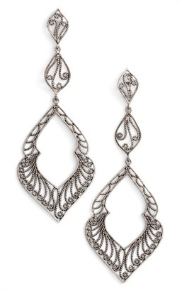 Women's Argento Vivo Marquee Drop Earrings $78 thestylecure.com