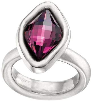 Uno de 50 Sor Tija Swarovski Crystal Accented Ring