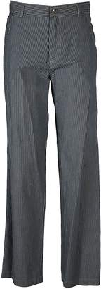 A.P.C. Coryn Striped Wide Leg Trousers