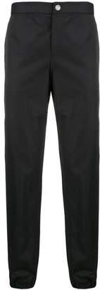 Versus logo stripe trousers