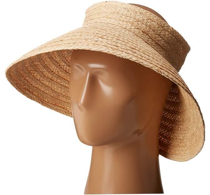 Hat Attack - Roll Up Travel Visor Casual Visor