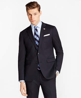 Brooks Brothers Milano Fit Stretch Wool Two-Button 1818 Suit