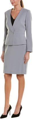 Tahari by Arthur S. Levine Tahari Asl Skirt Suit Set