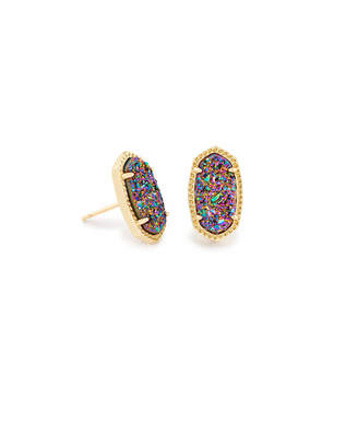 Kendra Scott Ellie Stud Earrings in Gold