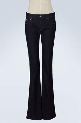 RED Valentino Flared jeans with side detailing