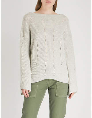 Nili Lotan Leyton ribbed-knit cashmere jumper