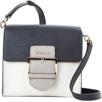 Furla Flo Small Leather Crossbody