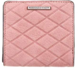 Rebecca Minkoff Embossed Suede Wallet w/ Tags