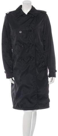 pradaPrada Long Sleeve Double Breasted Coat