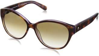 Kate Spade new york Women's Kiersten 2s Oval Sunglasses