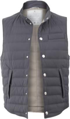 Brunello Cucinelli Goose Down Nylon Vest