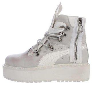 FENTY PUMA by Rihanna Puma x Fenty SB White Rihanna Boots b28c72ec0