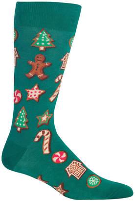 Hot Sox Men's Cookies Crew Socks