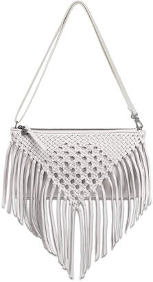 The Sak Filmore Leather Macrame Crossbody