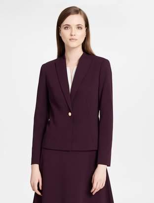 Calvin Klein scuba crepe jacket