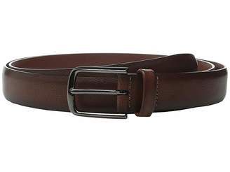 Perry Ellis Portfolio Park Ave Pebbled Leather Big Tall Dress Belt