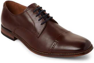 Bostonian Chestnut Narrate Cap Toe Leather Oxfords
