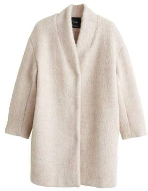 MANGO Unstructured oversize coat