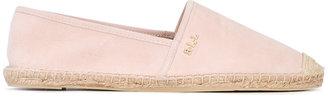 Ralph Lauren logo plaque espadrilles $108.75 thestylecure.com