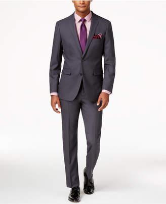 Vince Camuto Men's Slim-Fit Dusty Charcoal Suit $695 thestylecure.com