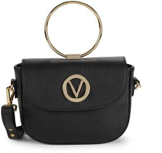Mario Valentino Valentino By Lunette Leather Crossbody Bag